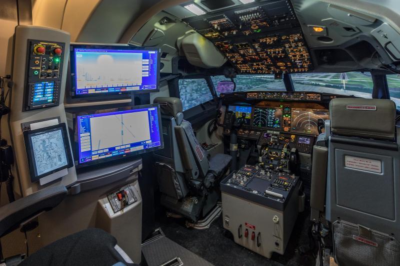 TRU Qualifies First Ever Boeing 737 MAX Full Flight