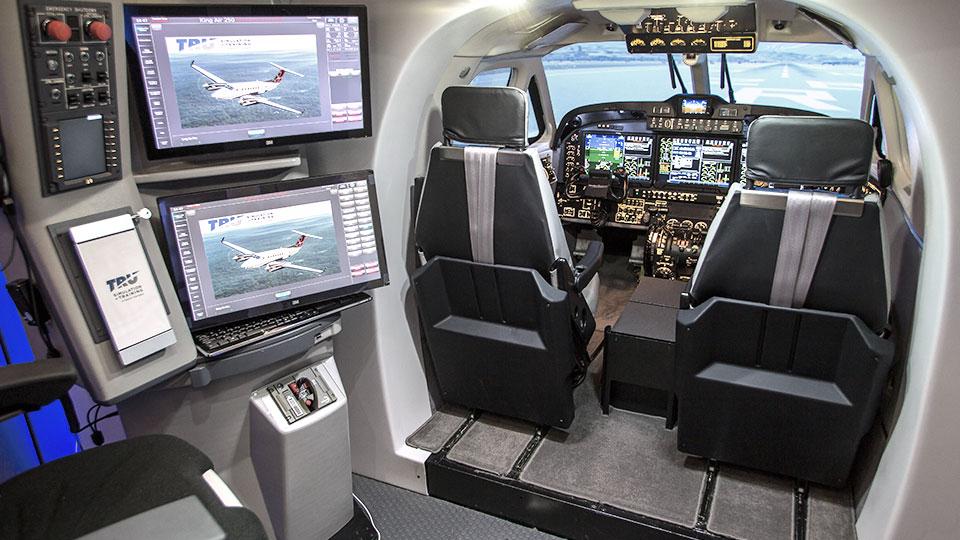 King Air 250 Full Flight Simulator