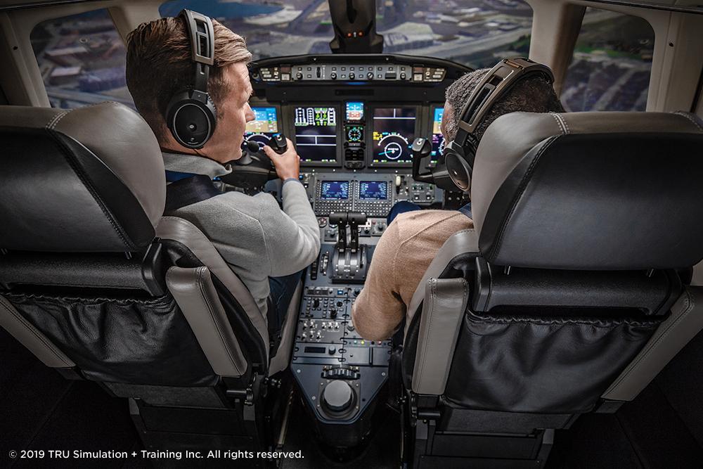 XLS+ Full Flight Simulator Pilot Training | TRU Simulation USA