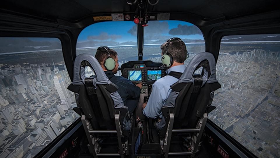 Bell 505 Level 7 FTD