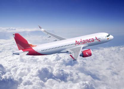 Avianca's A320 Aircraft